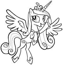 of my little pony coloring page free download