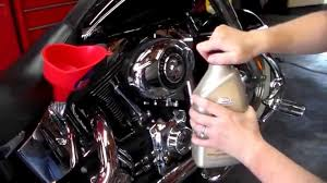 how to change the oil on a harley davidson softail deluxe youtube