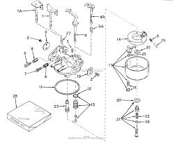 tecumseh walbro 631498 parts diagram for carburetor small engine