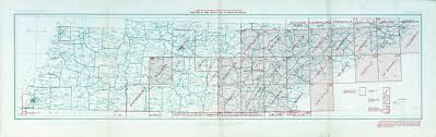 Middle Tn Map Tennesse Historical Topographic Maps Perry Castañeda Map
