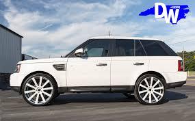 white wrapped range rover land rover u2014 dreamworks motorsports