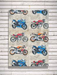 sports wrapping paper sports bike motorcycle wrapping paper a2 16 5 x 23 4in