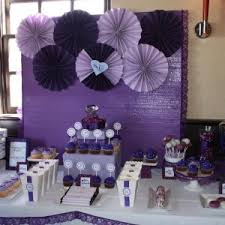 purple baby shower themes purple baby shower decorations ideas creative serving table