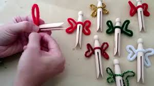 how to make simple clothespin fairies youtube
