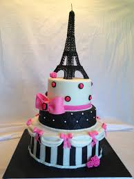 Eiffel Tower Decorations Birthday Cakes Images Amazing Eiffel Tower Birthday Cake