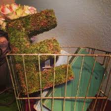 moss covered letters diy moss covered letter dwell with dignity