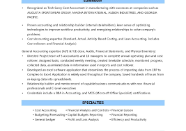 resume format for cost accountants association in united pretty cost accountant resume contemporary entry level resume