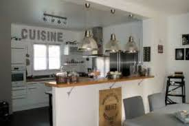 deco cuisine shabby idee deco salon gris 12 meubles d co blanc gris style