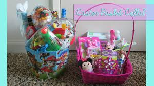 easter baskets for kids what s in my kids easter baskets easter ytmm collab