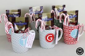 gift mugs with candy 12 days of design day 5 gift tags