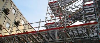 access scaffolding and stairway towers by layher