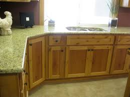 Cabinets With Knotty Alder Stained Kitchen Kitchen Colors With