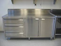 Stainless Steel Kitchen Cabinet Doors Stainless Steel Cabinet Drawers Exitallergy Com