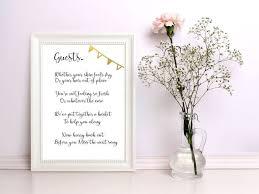 Poem For Wedding Bathroom Basket Best 25 Wedding Bathroom Signs Ideas On Pinterest Wedding