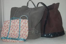 patron couture sac cabas le sac vanessa bruno la phanette aux petits pois