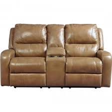 ashley furniture roogan reclining power sofa in blondie local