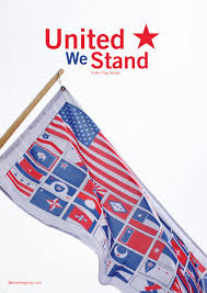 American Flag To Color Sideproject United We Stand Bresslergroup