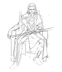 thor loki coloring pages 0 free coloring printable loki