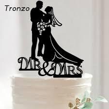 aliexpress com buy tronzo new romantic wedding cake topper