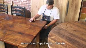 differences of pine and oak differences in wood grains youtube