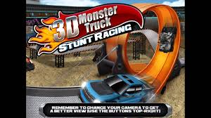 monster truck racing games 3d 3d monster truck stunt racing free game gameplay review for