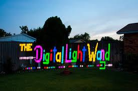 programmable led light strips the digital light wand