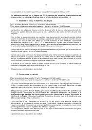 calcul repartition sieges elections professionnelles deliberation region ile de instances statutaires et elections