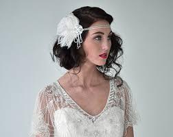 1920 hair accessories flapper headband etsy