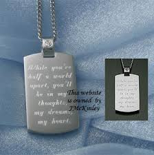 engravable dog tags thick stainless steel dog tags