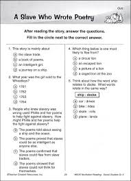 reading comprehension test for grade 5 nonfiction reading comprehension social studies grade 5 017919