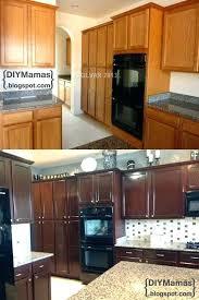 Kitchen Cabinets Restaining Kitchen Cabinet Restaining Can You Kitchen Cabinets Ing Oak