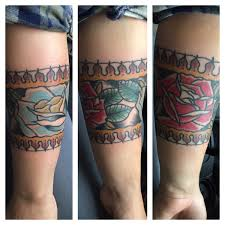 roses arm sleeve tattoo the beginning of my sleeve american traditional tattoo roses