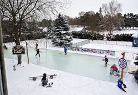 How To Build An Ice Rink In Your Backyard Backyard Hockey Rinks From Simple To Elaborate The Columbian