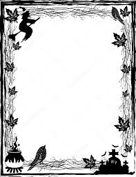 halloween stock background black and white halloween background in vector u2014 stock vector