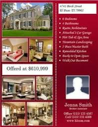 Estate Feature Sheet Template 22 Best Estate Flyer Templates Images On