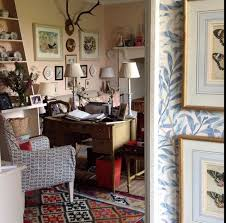 country homes and interiors uk louise townsend via instagram love the mix and that wm morris
