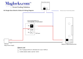 electric door strike wiring diagram gooddy org