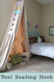 would you love to make your kids tent reading nook but are short
