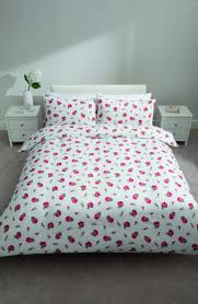 What Size Is King Size Duvet Cover Rosebud Flannelette Duvet Cover Set King Size Flannelette