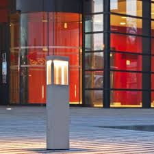 Led Pedestal Light Led Pedestal And Post Light Tetra Terra Lumi
