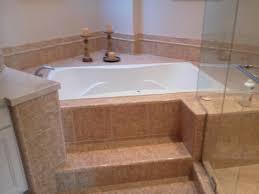 raised platform stone bathtub