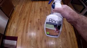 Bona For Laminate Floor Bona Vs Bissell Steam Mop For Claening Hardwood Floors Youtube