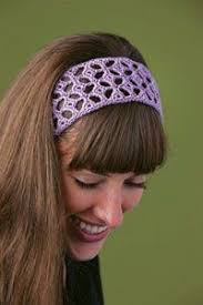 crochet hair band ella s headband crocheted headbands crochet lace and crochet