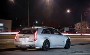 2011 cadillac cts v 2011 cadillac cts v wagon term test review car and driver