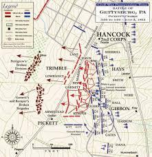Gettysburg Pennsylvania Map by Maps Of Gettysburg Pickett U0027s Charge American Civil War Forums