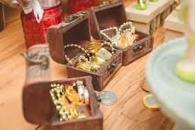 Treasure Chest Favors by Kara S Ideas Pan Neverland Birthday Kara S