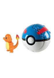 throw n pop poke ball charmander