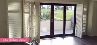 Folding Window Shutters Interior Bi Fold Plantation Shutters For Sliding Glass Doors U2022 Sliding