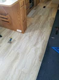 Laminate Flooring For Rv Rv New Flooring Installation New Floor Part Way Done