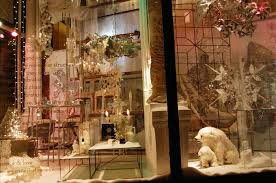 Home Decor Retail A Window At The Bergdorf Goodman Men U0027s Store Shows A Holiday